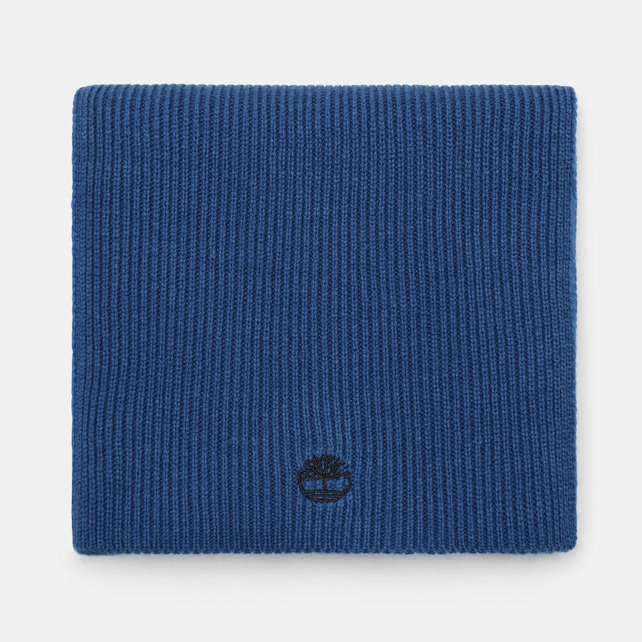 Écharpe Côtelée En Bleu Sarcelle Bleu Sarcelle, Taille TAILLE UNIQUE - Timberland - Modalova
