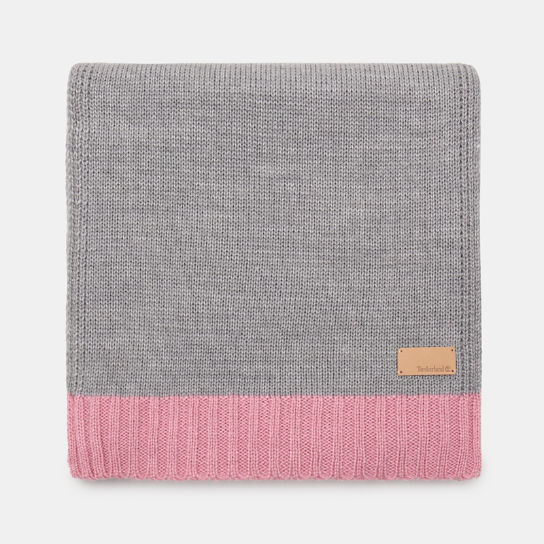 Colourblock Scarf for Women in Pink | Timberland