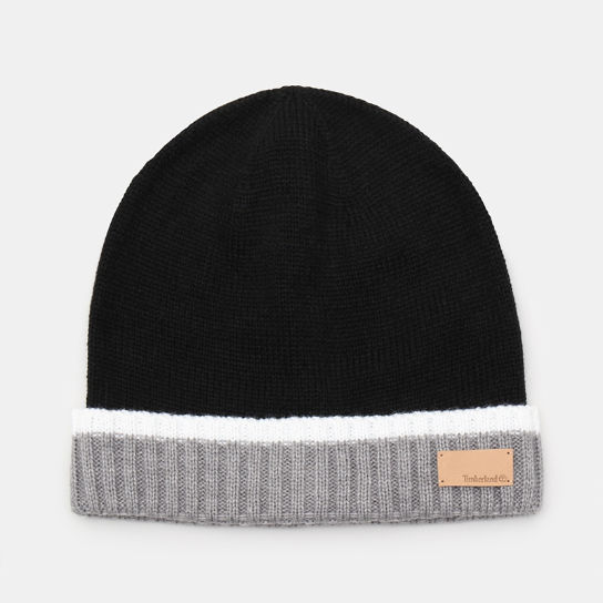 Colour Block Cuff Beanie for Women in Black | Timberland