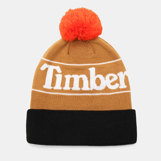 Pom Beanie for Men in Yellow | Timberland