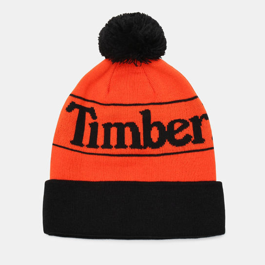 Pom Beanie for Men in Orange | Timberland