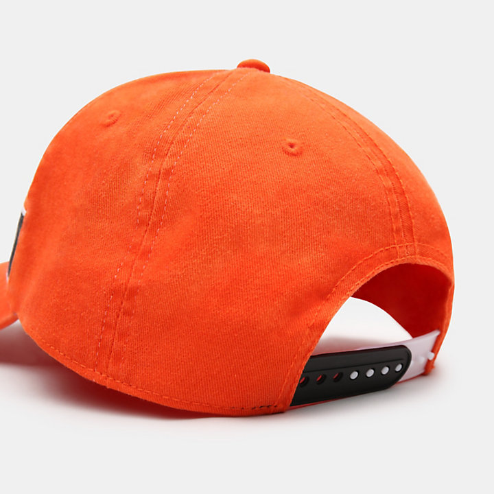Baseball Cap for Men in Orange-