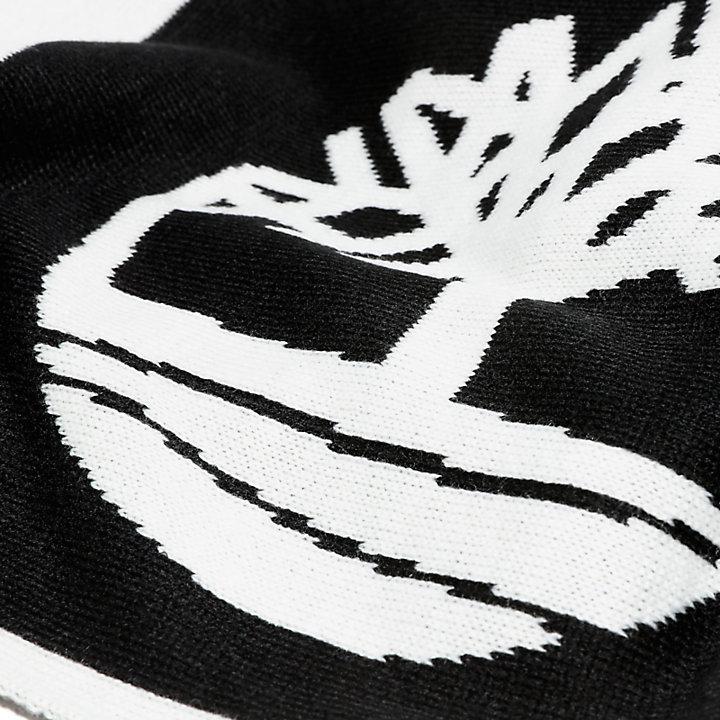 Bufanda en Bloques de Colores en color negro-