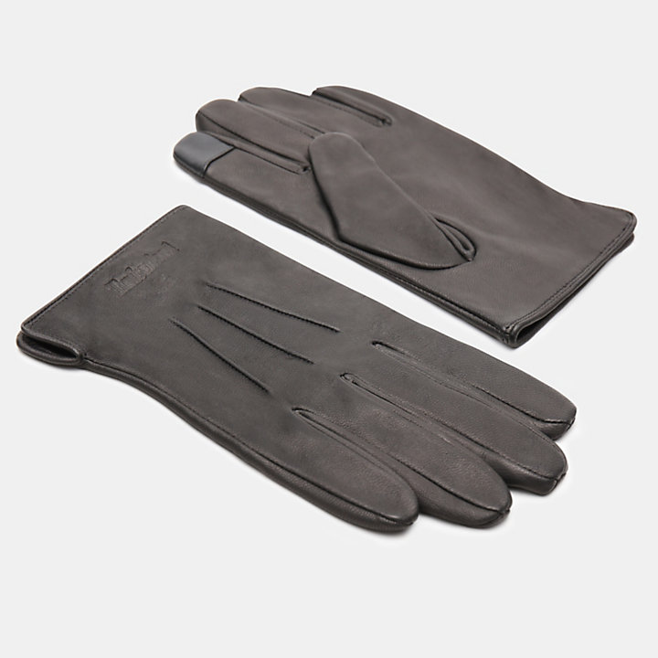 Smart Casual Gloves for Men in Black-