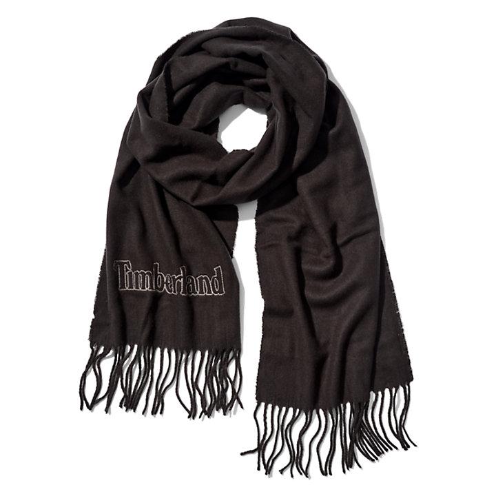 Geschenkbox mit Schal für Herren in Schwarz-
