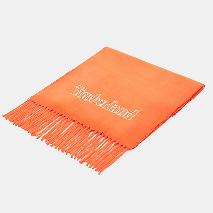 Scarf Gift Box for Men in Orange-