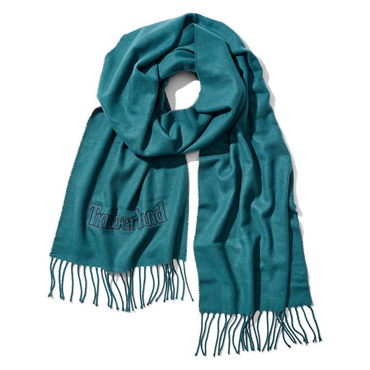 Geschenkset met Sjaal voor Heren in groen-