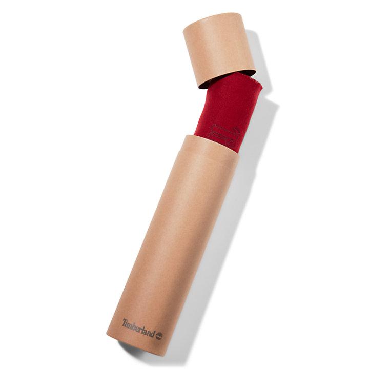Bufanda en Caja de Regalo para Hombre en rojo-