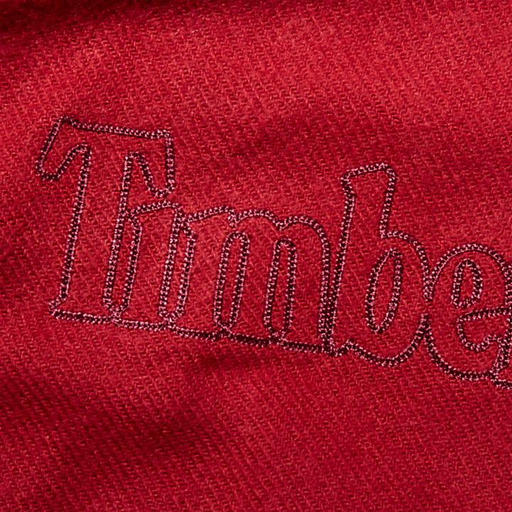 Geschenkbox mit Schal für Herren in Rot-