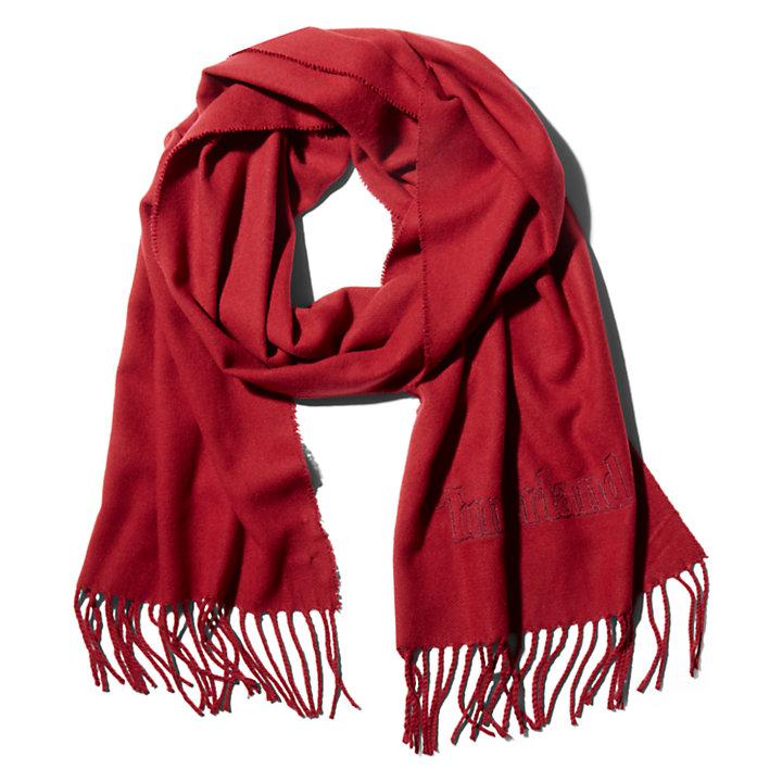 Coffret cadeaux écharpe pour homme rouge-