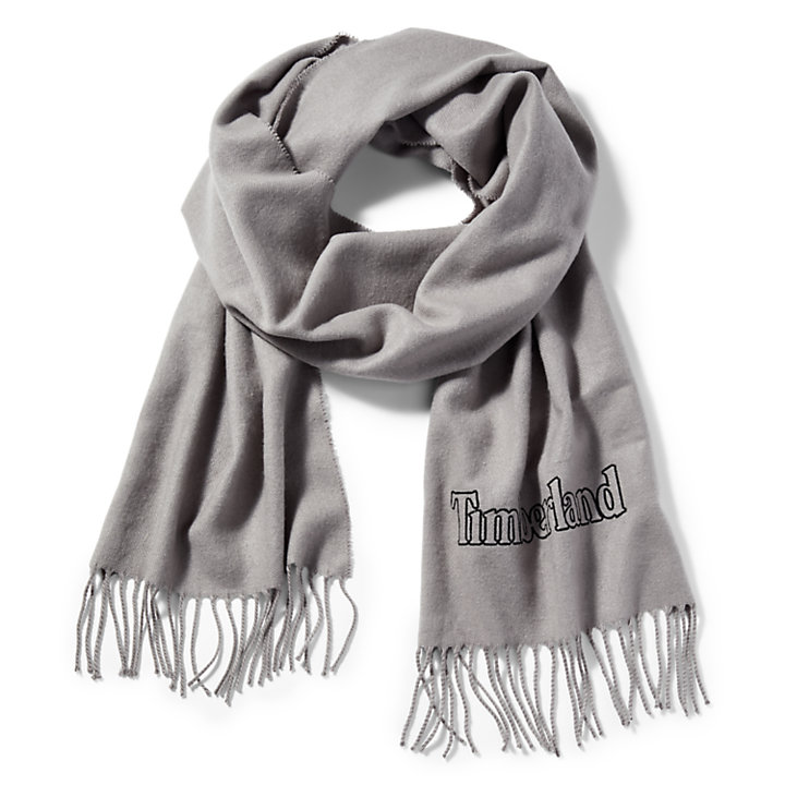 Scarf Gift Box for Men in Light Grey-