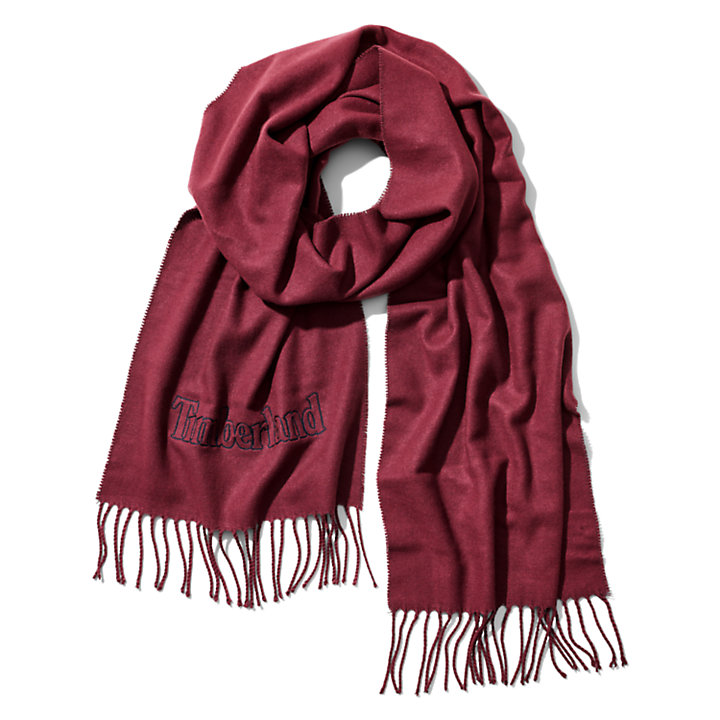 Scarf Gift Box for Men in Burgundy-