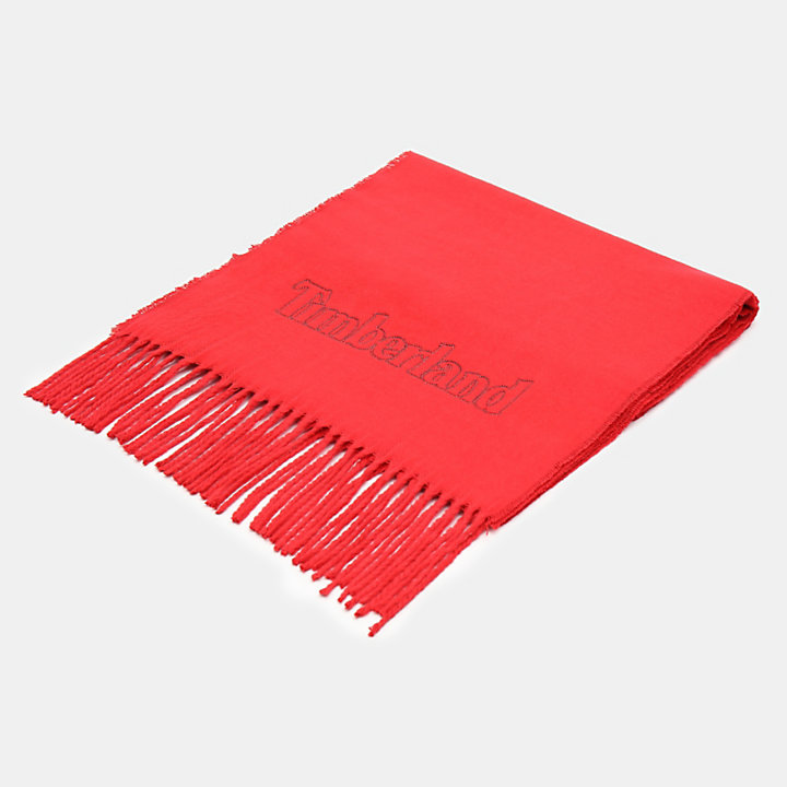 Scarf Gift Box for Men in Red-