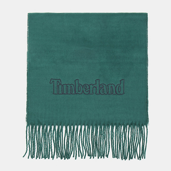 Scarf Gift Box for Men in Green-