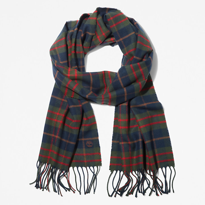 Cape Neddick Scarf with Gift Box for Men in Brown-