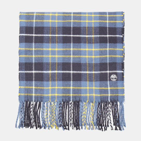 Plaid Scarf in Blue | Timberland