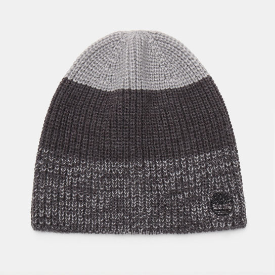 Colour Block Beanie for Men in Grey | Timberland
