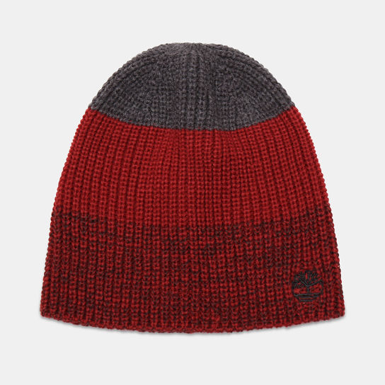 Bonnet color-block pour homme en rouge | Timberland