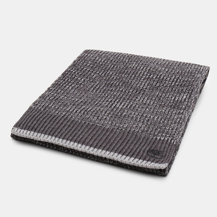 Farview Hill Colourblock Scarf for Men in Grey-