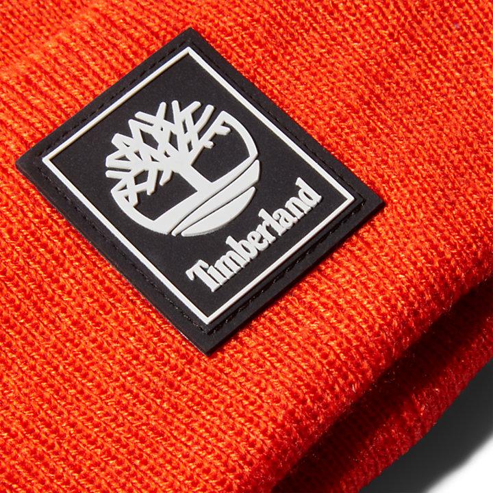 Berretto da Uomo Logo Patch Mushroom in arancione-