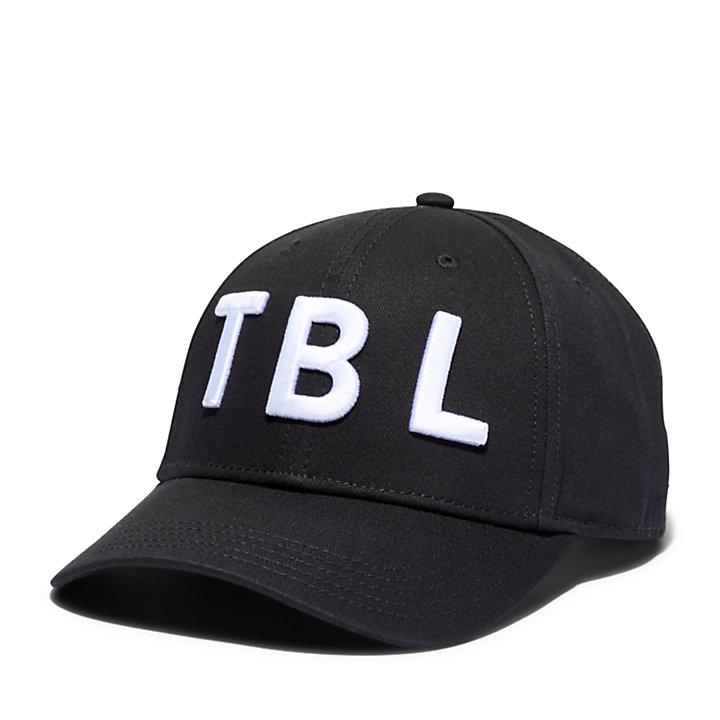 Casquette de base-ball TBL 3D pour homme en noir-