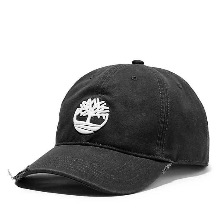 Gorra de Béisbol con Logotipo del Árbol para Hombre en color negro-