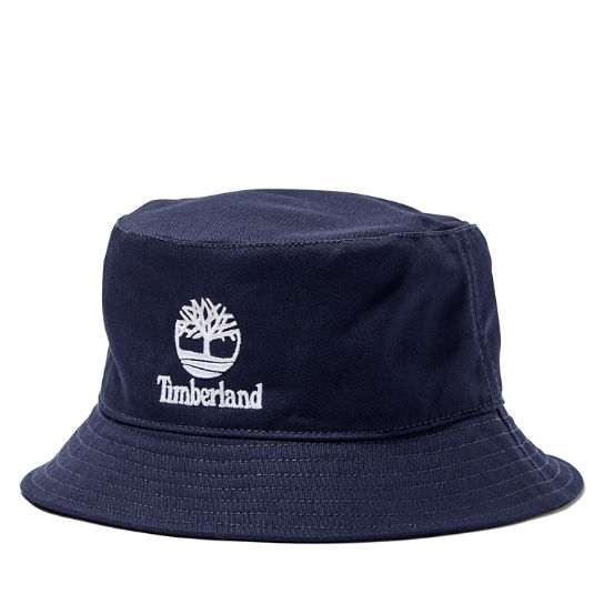 Bucket Hat in Navy | Timberland