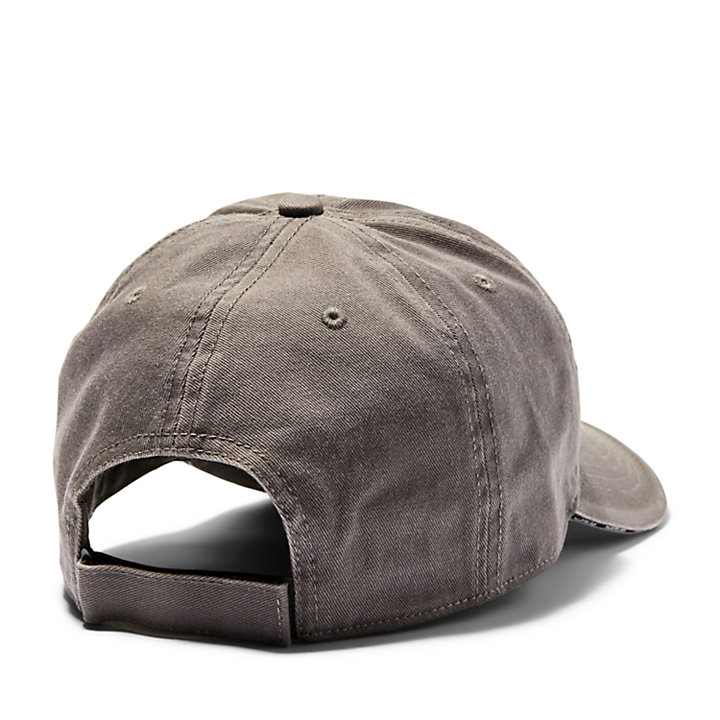 Sandwich Brim Baseball Cap for Men in Grey-