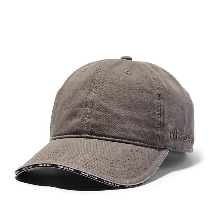 Gorra de Béisbol con Visera Laminada para Hombre en gris-