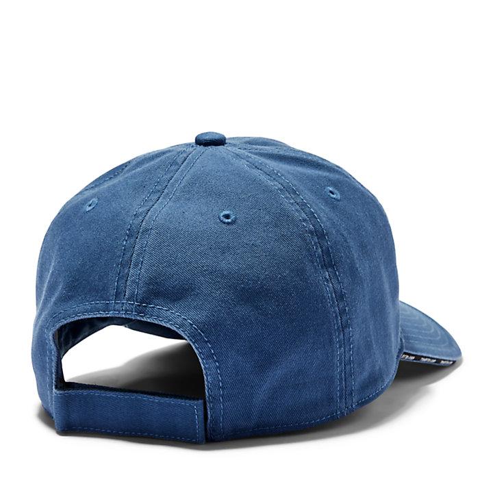 Gorra de Béisbol con Visera Laminada para Hombre en azul-