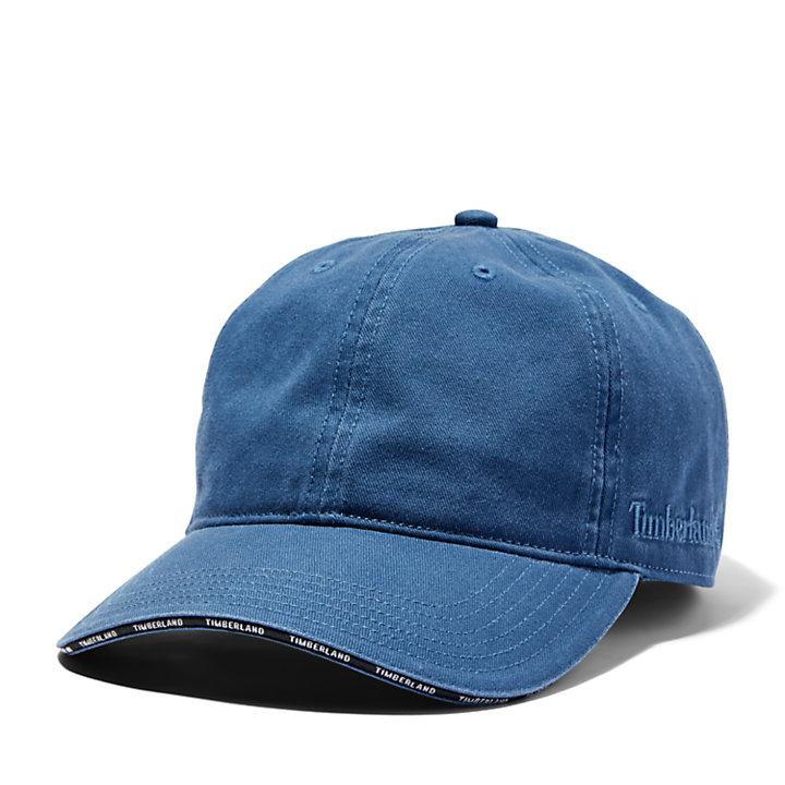 Berretto da Baseball da Uomo con Visiera e Sottovisiera in blu-