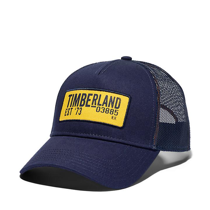 Cappellino Trucker da Uomo in blu marino-