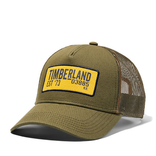 Trucker Cap for Men in Green | Timberland