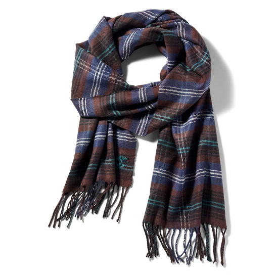 Cedarbrook Scarf Gift Set for Men in Brown | Timberland