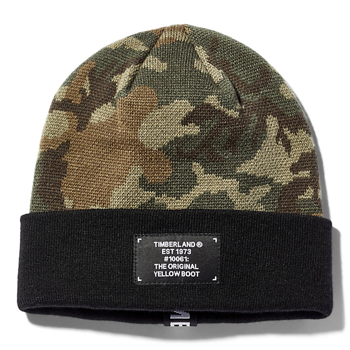 Mount Major Jacquardmütze für Herren in Camo-