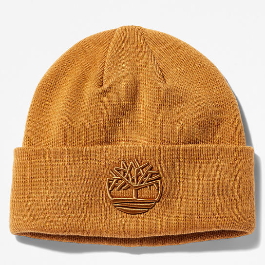 Newington Embroidered Beanie for Men in Yellow | Timberland