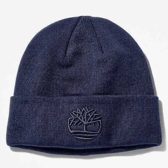 Newington Embroidered Beanie for Men in Navy | Timberland