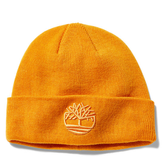 Newington Embroidered Beanie for Men in Orange | Timberland