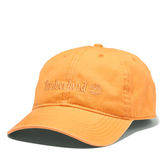 Cooper Hill Baseball Cap for Men in Orange | Timberland