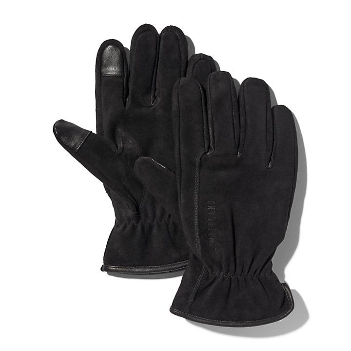 Guantes de Cuero Utility para Hombre en color negro-