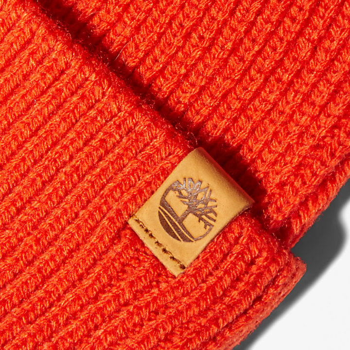 Fisherman Beanie in Orange-