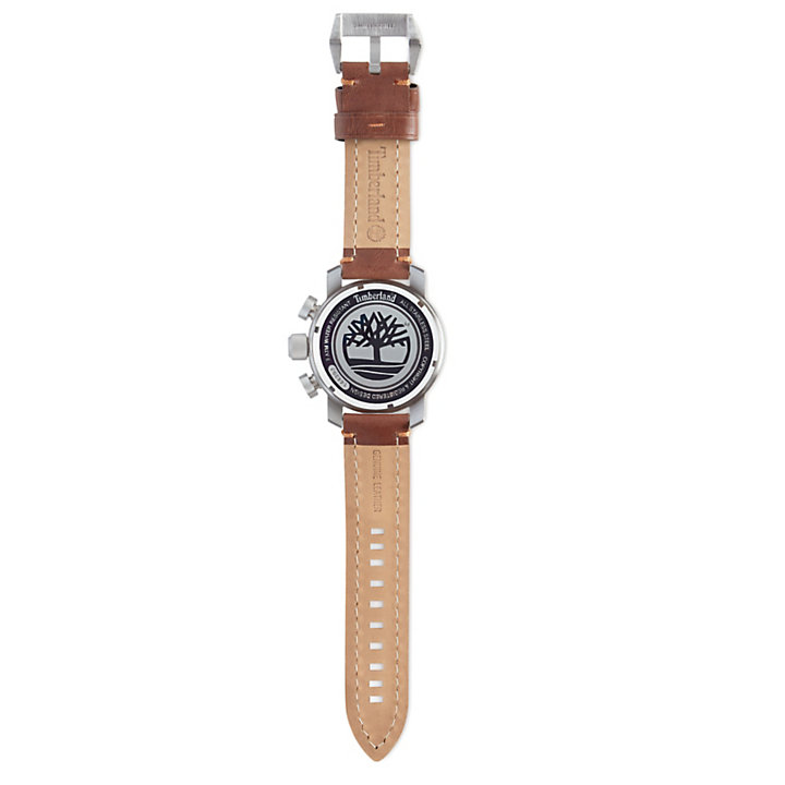 Mascoma Watch for Men in White/Light Brown-