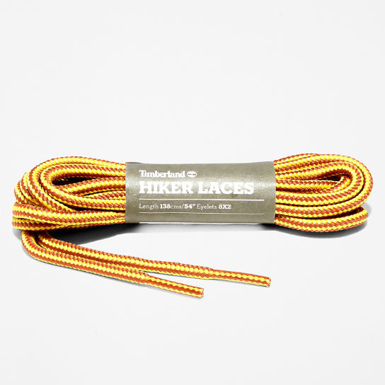 137.2cm / 54'' Replacement Round Laces in Yellow | Timberland