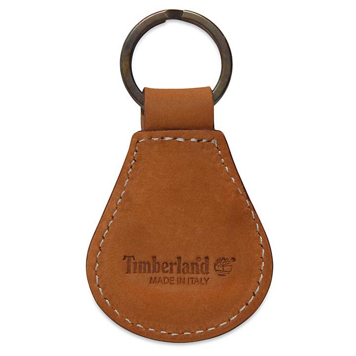 Leather Timberland 174 Tree Logo Key Ring Timberland