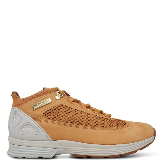 Kenetic Fabric and Leather Shoe Homme Jaune | Timberland