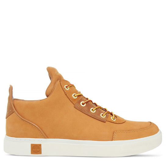Men's Amherst High Top Chukka Yellow | Timberland