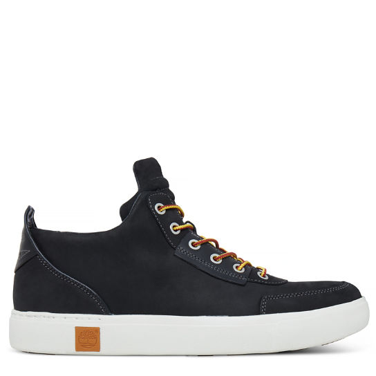Men's Amherst High Top Chukka Black | Timberland