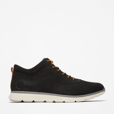 Killington+Nubuck+Low+Chukka+for+Men+in+Black+Nubuck