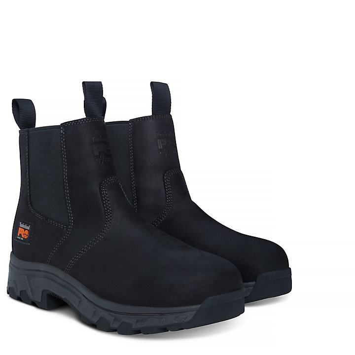 Men's Pro Workstead Chelsea Boot Black-