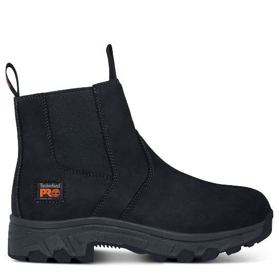 Men's Pro Workstead Chelsea Boot Black | Timberland